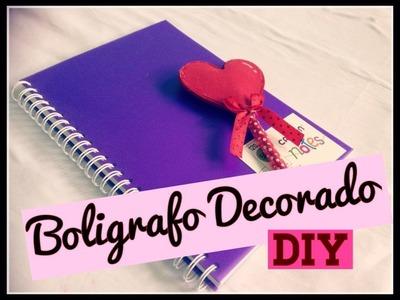 Boligrafo decorado para tu Diario- MeDicenYessi