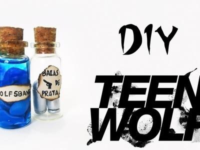 DIY: Bottle Charms TEEN WOLF - Balas de Prata e Wolfsbane. Acônito