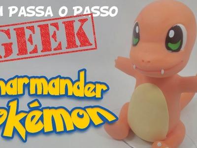 DIY - Charmander (Pokémon) em Biscuit - Sah Passa o Passo GEEK