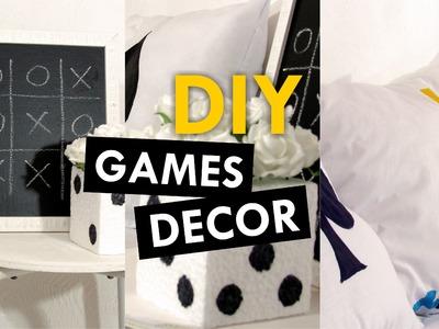 DIY - Games Decor - (Decoração com tema jogos)