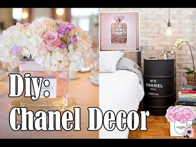 Diy: Inspiração Chanel   Decoração