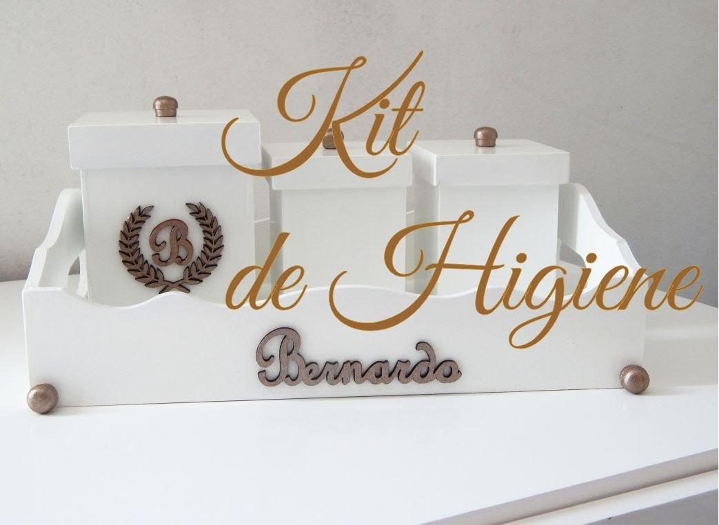 DIY: Kit de Higiene para o Bebê