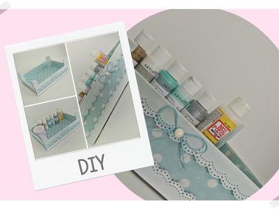 DIY - Reciclar Caixa de Madeira - passo a passo
