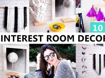 10 DIY Decoração Pinterest ft. Eduardo Wizard - Room Decor