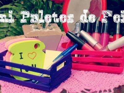 DIY: Mini Paletes com Palitos de Picolé-Amanda Ramos