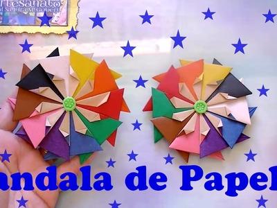 MANDALA DE PAPEL 3 - DOBRADURA