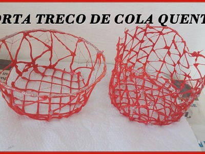 DIY: Cestinha de Cola quente por Ana Paula Vieira