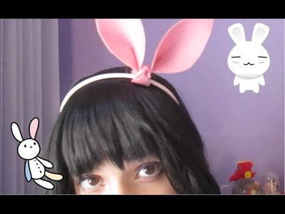 DIY- Cute and Easy Bunny Headband