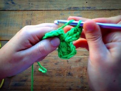 Flores rápidas em crochet