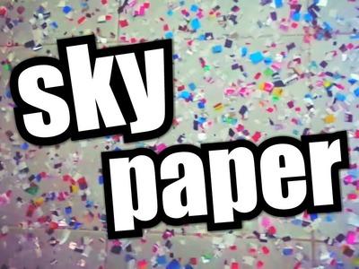 Sky Paper Chuva de Prata