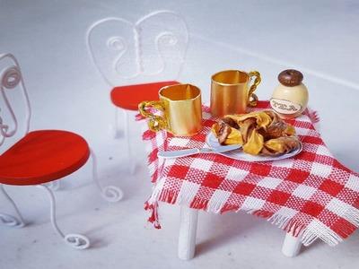 #4 DIY Dollhouse Items- Miniature Kitchen Chair-DIY Miniatura Cadeira