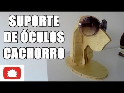 Como fazer Cachorro Suporte de óculos - DIY | Na Oficina S02E29