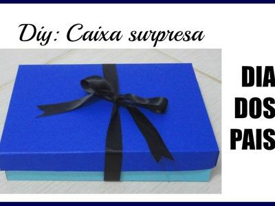 DIY: CAIXA SURPRESA. DIA DOS PAIS VEDA #2
