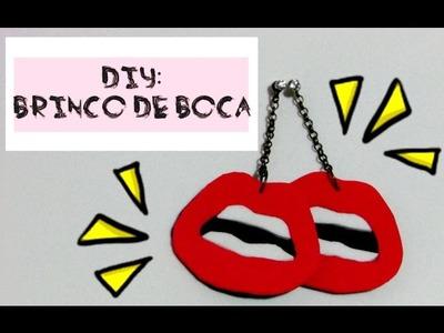 DIY: COMO FAZER BRINCO DE BOCA