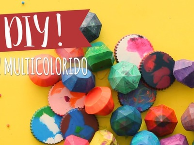 DIY: Como fazer giz multicolorido | WESTWING