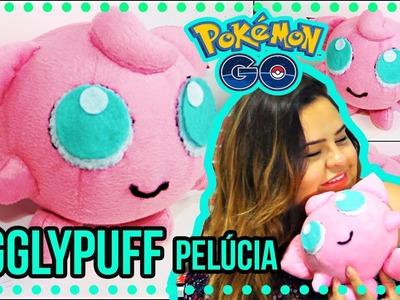 DiY Pokemon Go: Jigglypuff de PELÚCIA| Pokemon plush jigglypuff| Tatiane Xavier