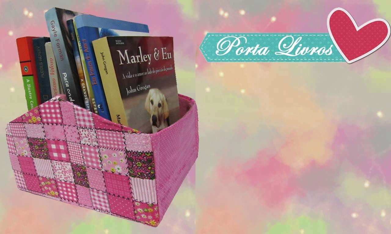 DIY: Porta Livros - Faça você mesmo gastando nada