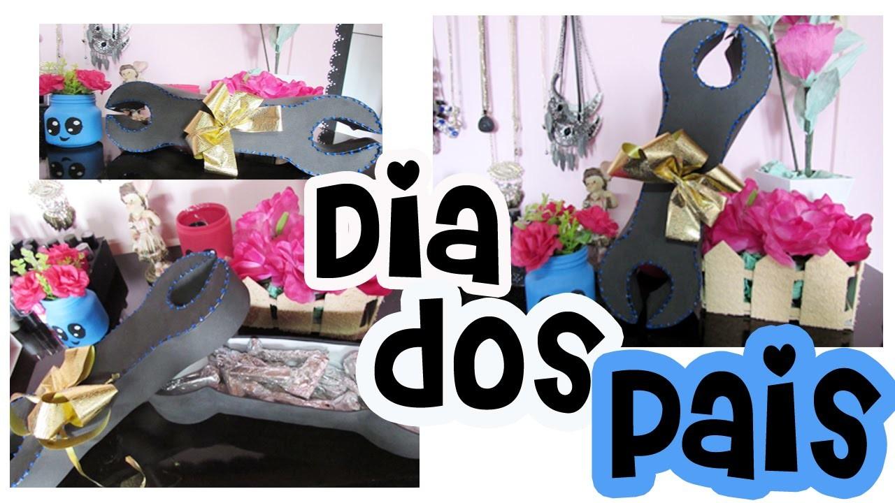 DIY - PRESENTE PARA O DIA DOS PAIS | Caixa Ferramenta
