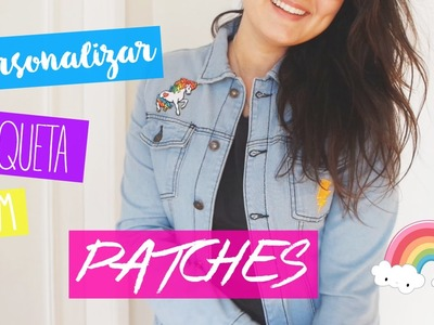 DIY - Tutorial: Como customizar sua jaqueta com Patches bordados