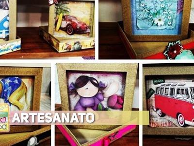 Artesanato - Caixas de lembrancinhas