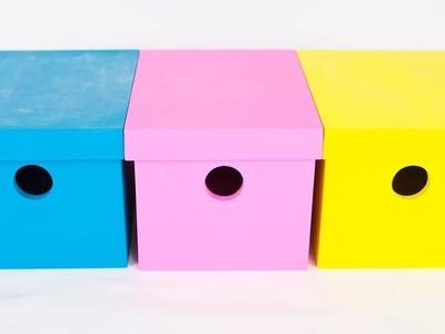 Dica: Caixa Lousa Colorida - Artesanato em MDF