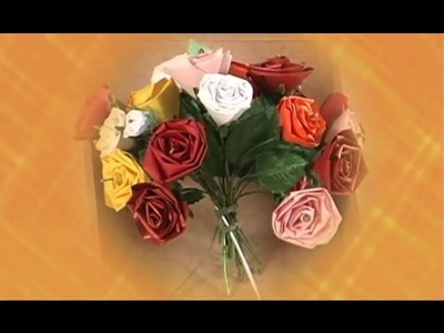 Quiling: Rosa - Artesanato na Rede
