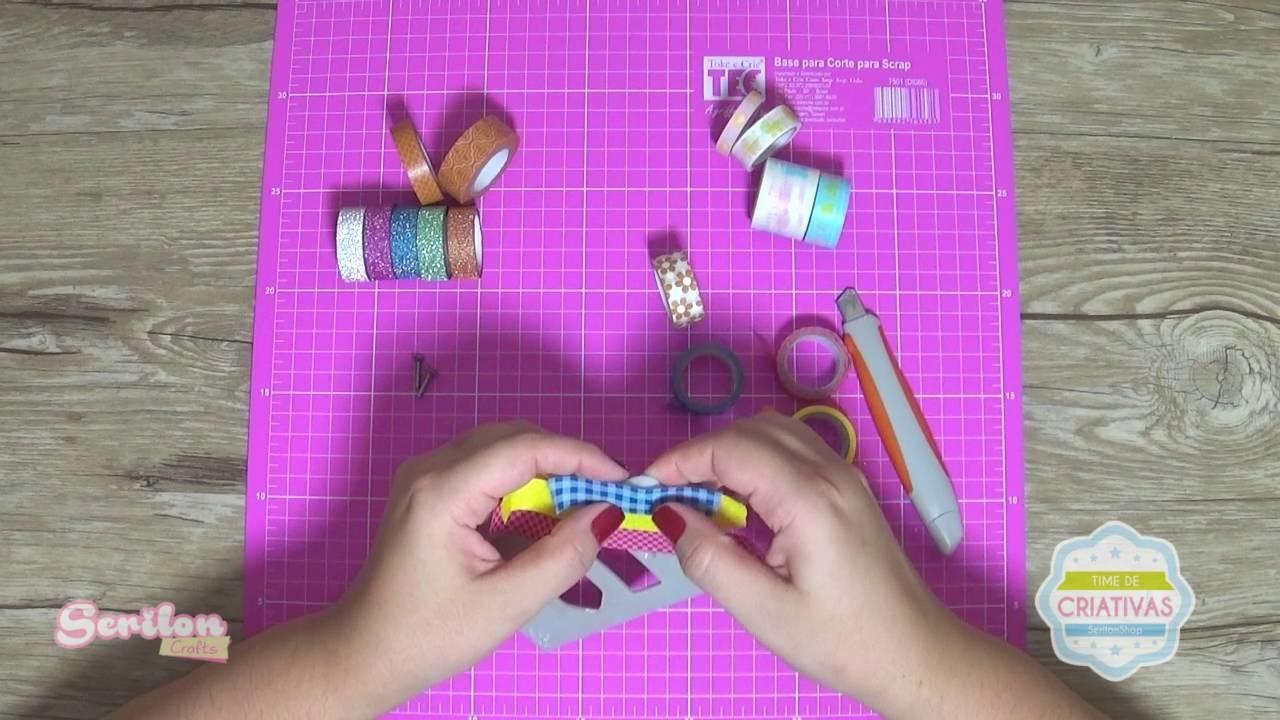 Washi Tape ideias de decoração DIY