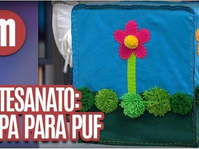 Capas para puf - Artesanato - Mulheres(02.08.16)