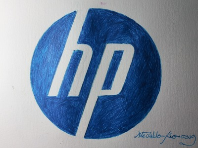 Como desenhar o logo da HP I How to Draw the HP Logo