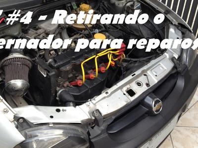 DIY #4 - Retirando o alternador para reparos - Dr. Corsa