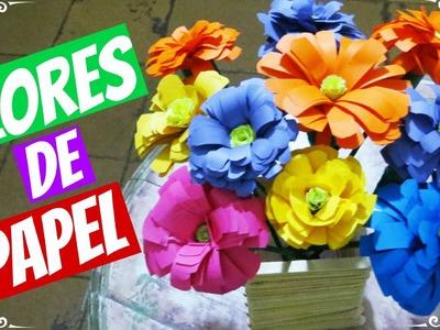 DIY - Como Fazer Flores de Papel
