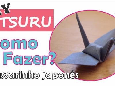 DIY | Como fazer um tsuru de origami (how to fold)?