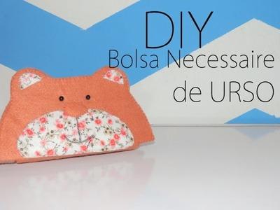 DIY:: Bolsa Necessaire de URSO