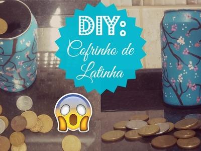 DIY: Cofrinho de Latinha