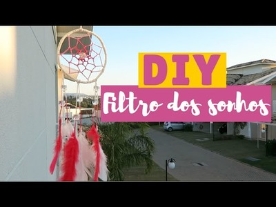 DIY - dream catcher. filtro dos sonhos- por Beta Lotti