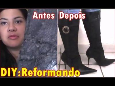 DIY Reformando Sapatos - Juliana Marchetti
