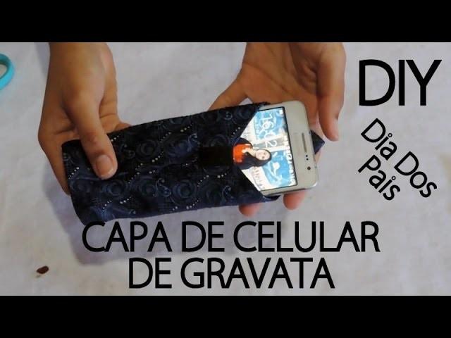 DIY:: Capa de celular de gravata #VEDA