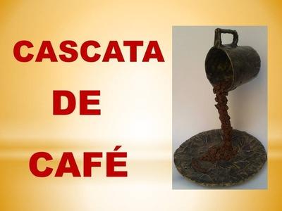 DIY - Cascata de Café para decoração