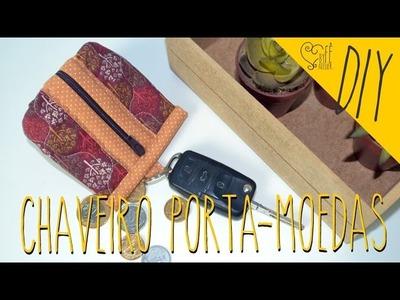 DIY ::: Chaveiro Porta-Moedas - By Fê Atelier