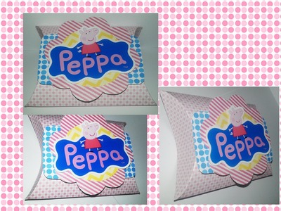 DIY  Como Fazer Lembrancinhas personalizadas peppa Pig