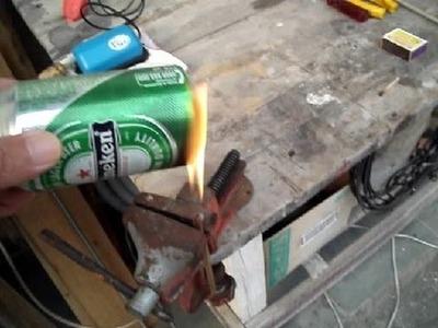 Diy - Como fazer Maçarico com Gasolina?  (Parte 2.2)