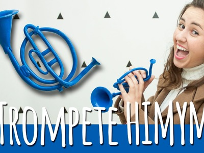 DIY: Como fazer Trompete HIMYM | Granola Com Iogurte