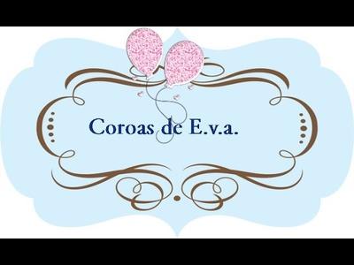 DIY: Coroas de E.v.a.