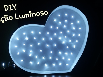 DIY Luminária Coração