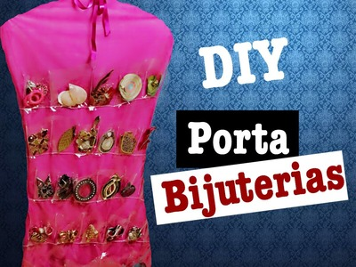 DIY PORTA BIJUTERIA | #costurandocomahet | Helen Hetmanek