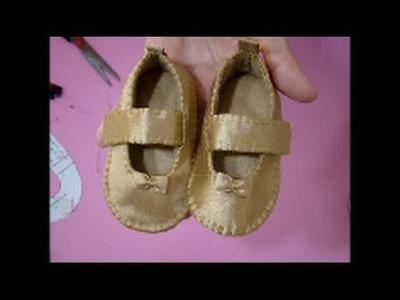 DIY tecnica como cobrir sapato ou sandalia de feltro com tecido