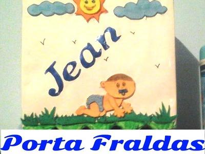Porta Fralda - DIY passo a passo!