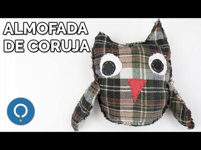 Almofada de coruja PASSO A PASSO | DIY