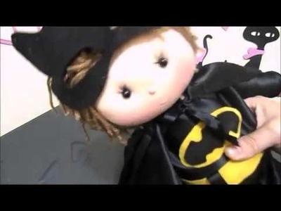 Batman (boneco de pano) pap.diy