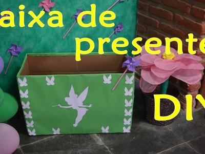 Caixa de presentes Tinker Bell (Sininho) DIY  | Sayury Mendes